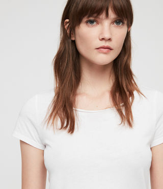 Womens Vetten Tee (Optic White) - product_image_alt_text_2