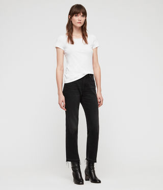 Womens Vetten Tee (Optic White) - product_image_alt_text_3