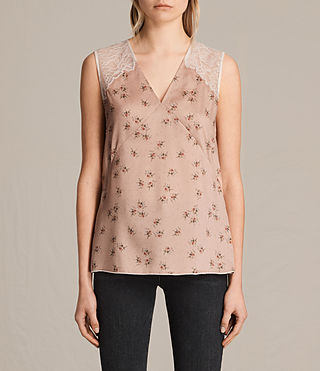 Women's Prism Rosalie Top (BLUSH PINK) -