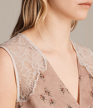 Womens Prism Rosalie Top (BLUSH PINK) - product_image_alt_text_2