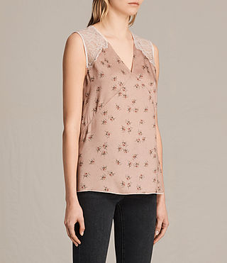 Womens Prism Rosalie Top (BLUSH PINK) - product_image_alt_text_3