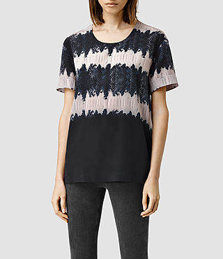 Womens Aroma Serpine Top (Dusty Pink)