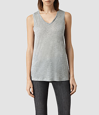 Womens Ines Vest (Grey Marl)