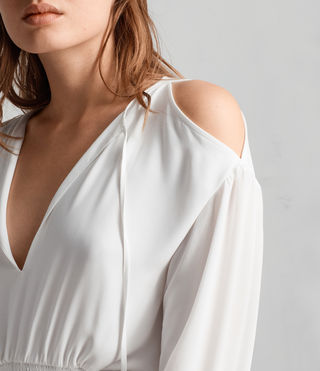 Womens Lavete Top (Chalk White) - Image 2