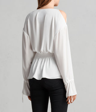 Womens Lavete Top (Chalk White) - Image 4