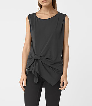 Damen Rivi Vest (COAL BLACK) -