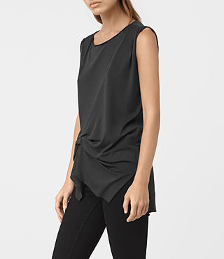 Damen Rivi Vest (COAL BLACK) - product_image_alt_text_3