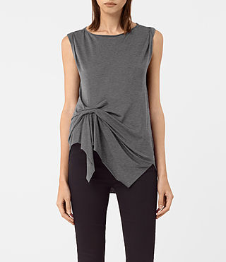 Donne Rivi Vest (COAL GREY)