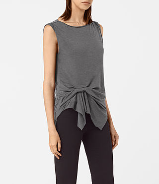 Mujer Rivi Vest (COAL GREY) - product_image_alt_text_2
