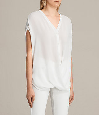 Damen Twist Top (Chalk) - Image 2