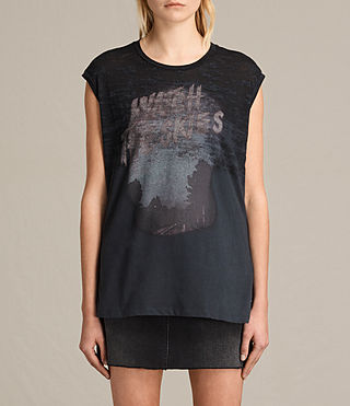 Mujer Camiseta Skies Brookita (DARK NIGHT BLUE)