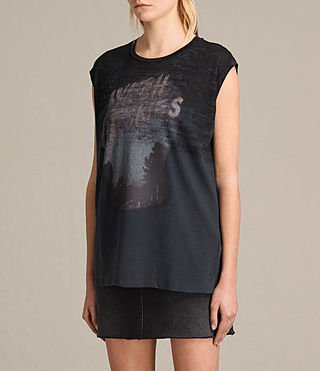 Damen Skies Brookita Tee (DARK NIGHT BLUE) - product_image_alt_text_2