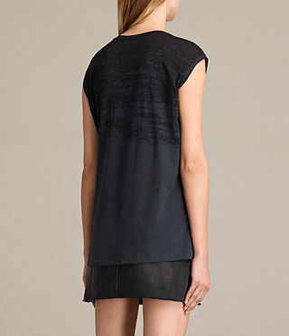 Damen Skies Brookita Tee (DARK NIGHT BLUE) - product_image_alt_text_3