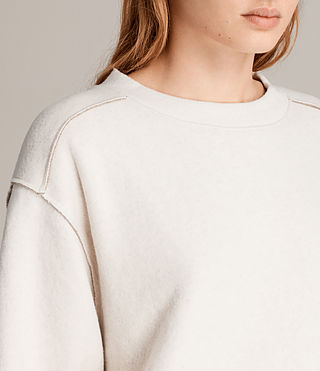 Women's Gilda Sweat (CHALK WHITE/TAUPE) - Image 2