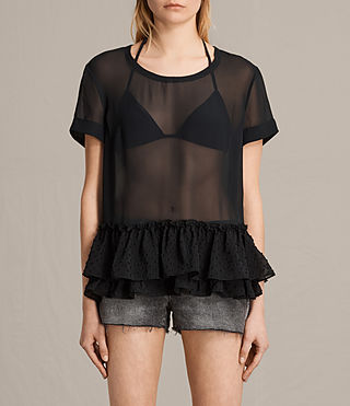 Mujer Bella Top (Black) - product_image_alt_text_1