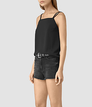 Womens Lyon Top (Black)