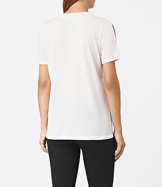 Donne Row Devo Tee (SMOG WHITE) - product_image_alt_text_3