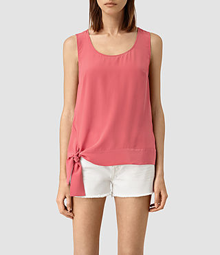 Womens Neely Top (SORBET PINK) - product_image_alt_text_1