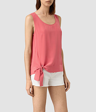 Womens Neely Top (SORBET PINK) - product_image_alt_text_2