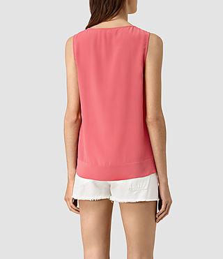 Womens Neely Top (SORBET PINK) - product_image_alt_text_3
