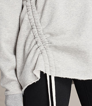 Damen Able Sweatshirt (Grey Marl) - product_image_alt_text_2