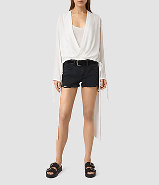 Womens Avala Top (Chalk White)