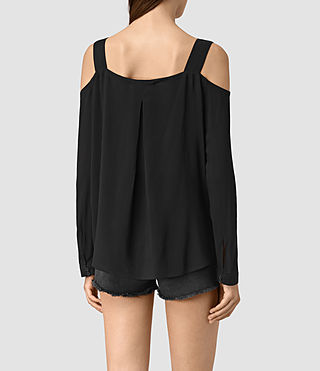 Mujer Elvi Top (Black) - product_image_alt_text_4