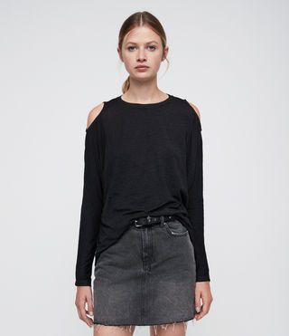 Damen Aino Tee (DARK NIGHT BLUE)