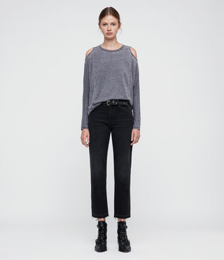 Donne Aino Tee (COAL GREY) - product_image_alt_text_3