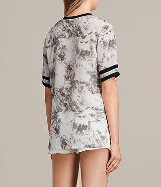 Damen Ana Tyde Silk Top (SOAP GREY) - product_image_alt_text_3