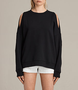 Damen Unai Sweatshirt (Black) -