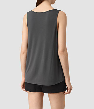 Womens Carli Top (Washed Black) - product_image_alt_text_4
