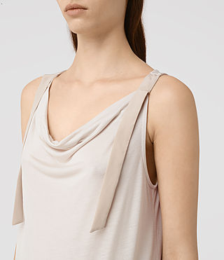 Womens Carli Top (OYSTER WHITE)