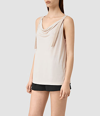 Femmes Carli Top (OYSTER WHITE) - product_image_alt_text_3