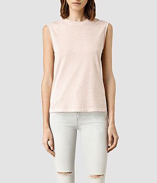 Mujer Camiseta Elm Devo (CAMI PINK)