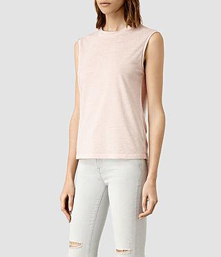 Mujer Camiseta Elm Devo (CAMI PINK) - product_image_alt_text_2
