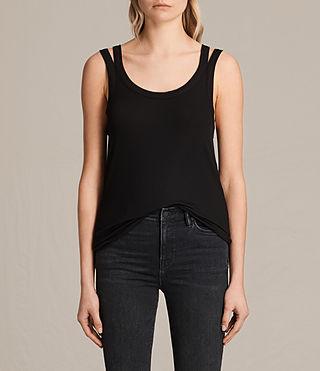 Women's Colette Strap Vest (Black)