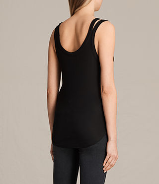 Mujer Colette Strap Tank (Black) - product_image_alt_text_3
