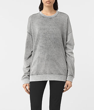 Femmes Leti Sweatshirt (Light Grey) -