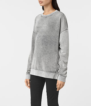 Donne Leti Sweat (Light Grey) - product_image_alt_text_2