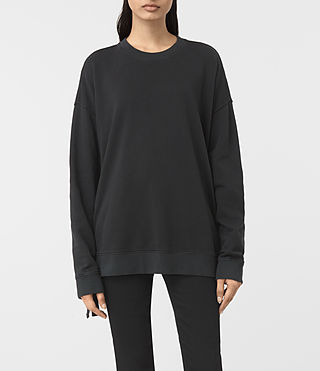 Donne Leti Sweatshirt (Jet Black) -
