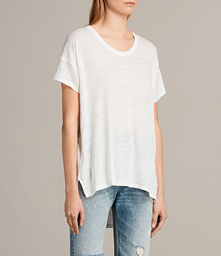 Women's Gina Tee (Vintage White) - product_image_alt_text_2