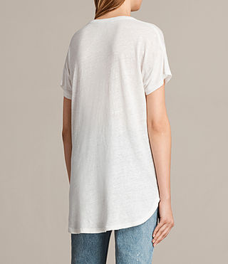 Women's Gina Tee (Vintage White) - product_image_alt_text_3