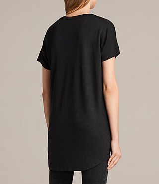 Women's Gina Tee (Black) - product_image_alt_text_3
