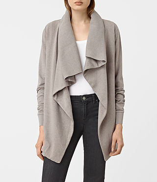 Damen Dahlia Marl Sweat (Grey Marl) -