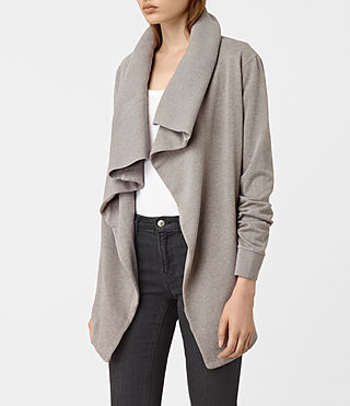 Damen Dahlia Marl Sweat (Grey Marl) - product_image_alt_text_2