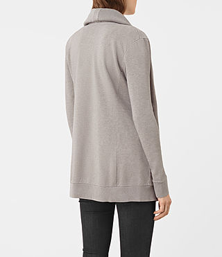 Damen Dahlia Marl Sweat (Grey Marl) - product_image_alt_text_3