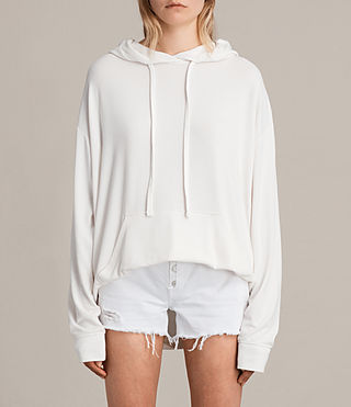 Womens Sammy Hoody (Vintage White) - product_image_alt_text_1