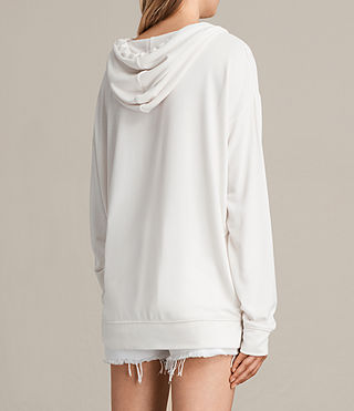 Womens Sammy Hoody (Vintage White) - product_image_alt_text_3