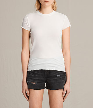 Damen Bea Tee (Chalk White) -